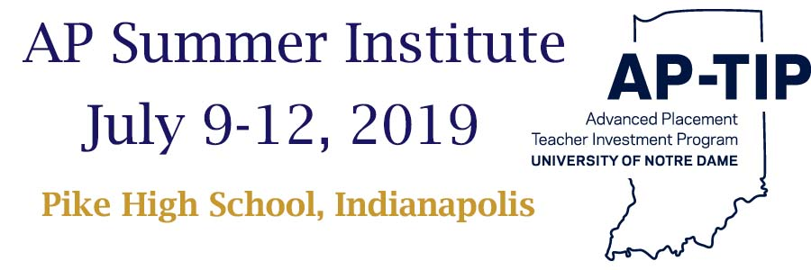 AP-TIP IN Advanced Placement Summer Institute