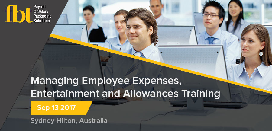 Managing Employee Expenses, Entertainment and Allowances Training