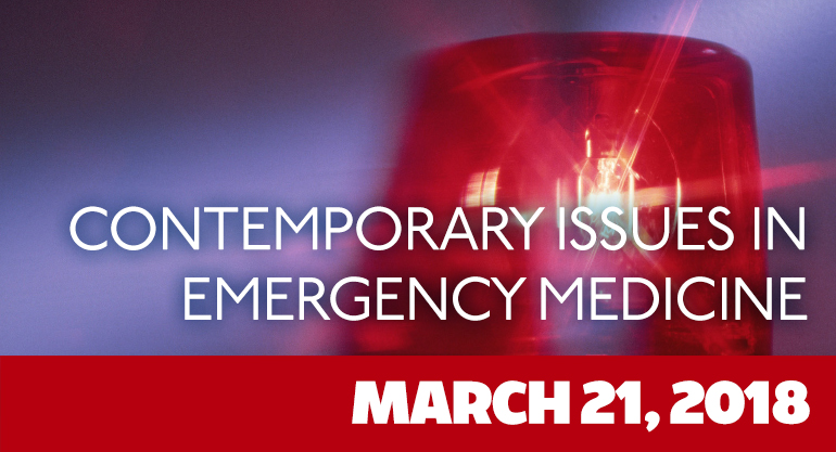 18th Annual Contemporary Issues in Emergency Medicine
