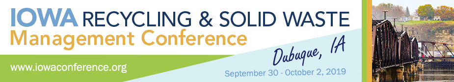 2019 Iowa Recycling and Solid Waste Management Conference