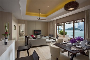 Beach Villas - Two Bedroom -  Living Room