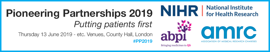 Pioneering Partnerships 2019   Putting Patients First