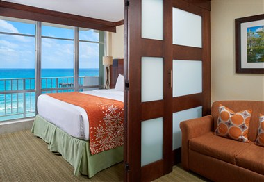 One-Bedroom Suite – Oceanfront