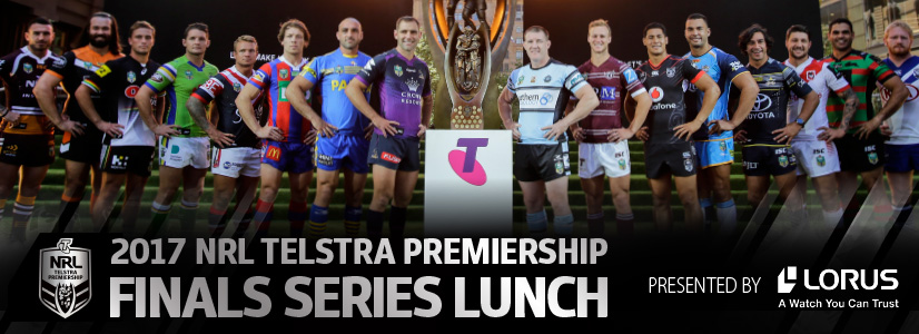 2017 NRL Telstra Premiership Finals Series Lunch