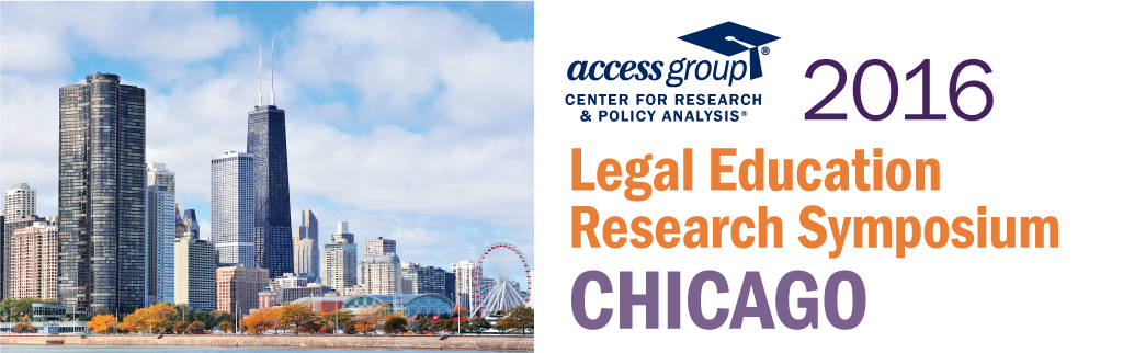 2016 Access Group Legal Education Research Symposium