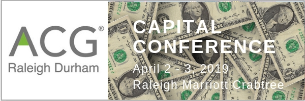 ACG Raleigh Capital Conference - General Attendee Registration Now Open