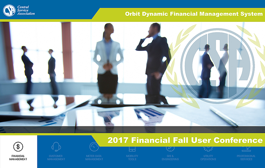CSA Financial Fall Users Conference (DFMS/WMS/Works)