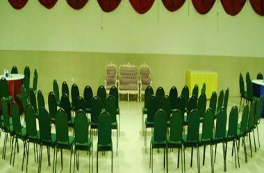 Semi-covered Hall