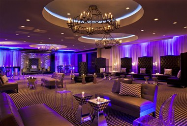 Uptown Ballroom Lounge Set Up