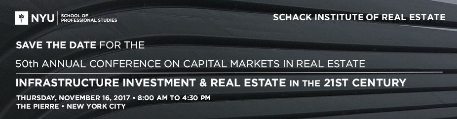 50th Annual Conference on Capital Markets in Real Estate