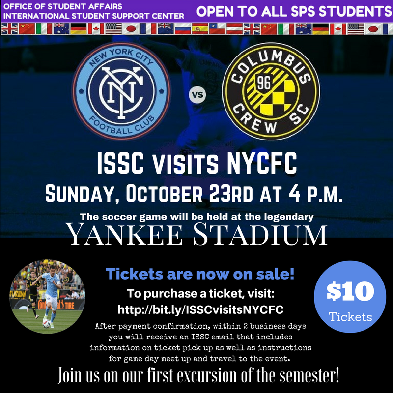 ISSC Visits NYCFC