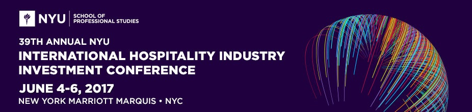 39th Annual NYU International Hospitality Industry Investment Conference