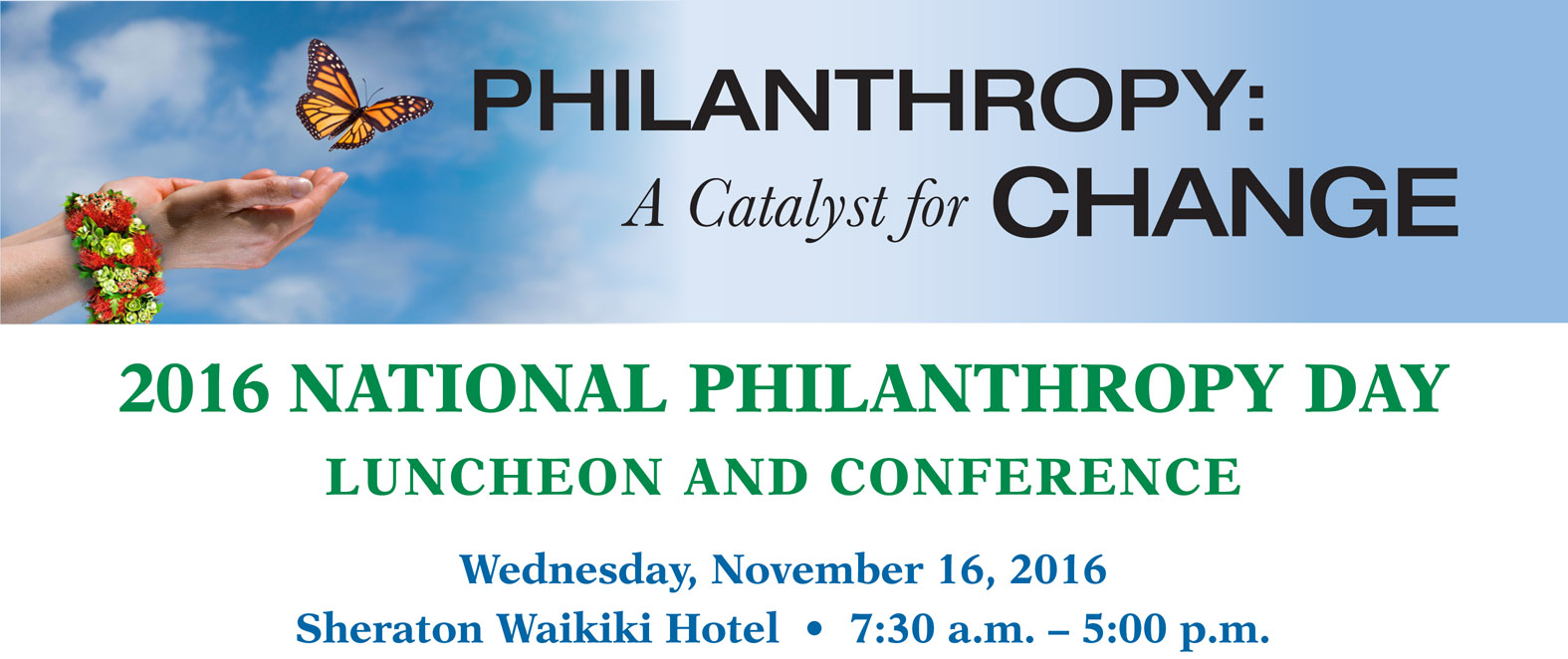 National Philanthropy Day 2016