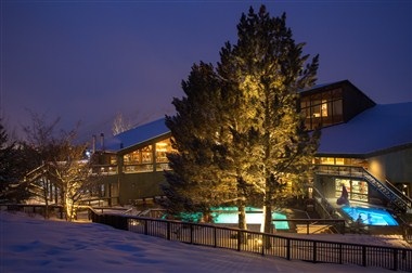 Snow King Resort Hotel Winter