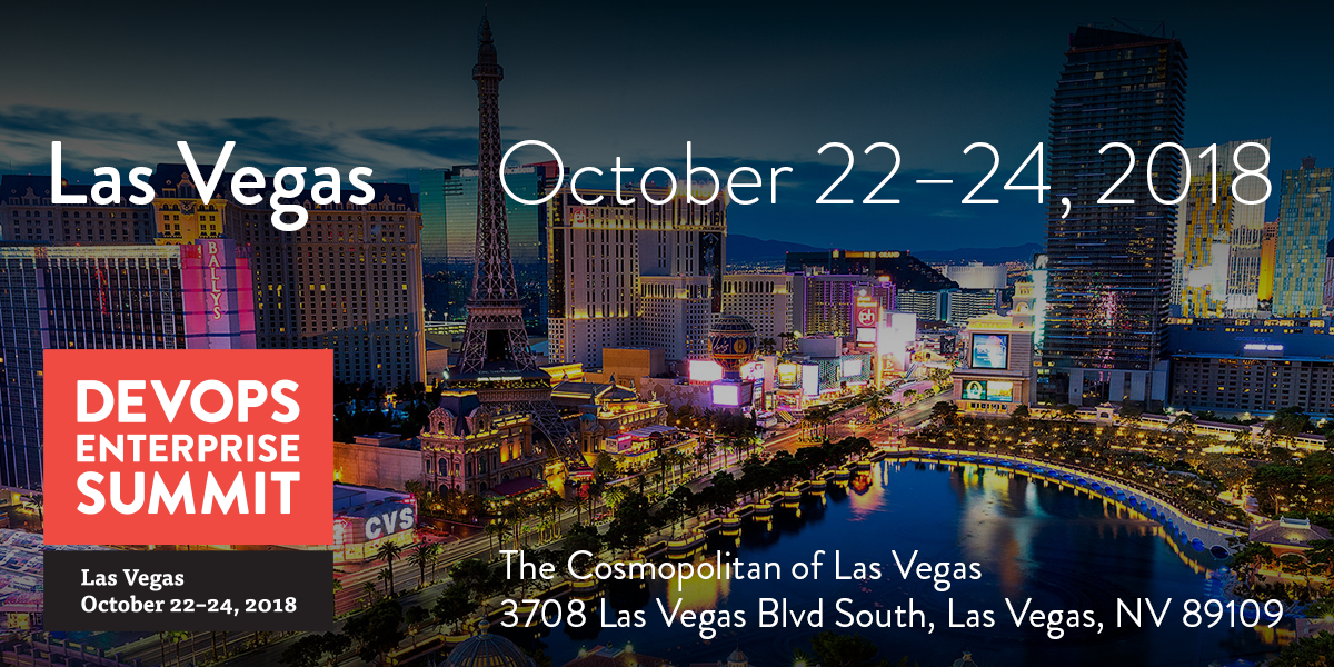 DevOps Enterprise Summit Las Vegas 2018