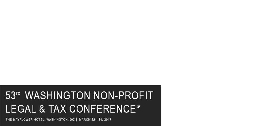 53rd Washington Non-Profit Legal & Tax Conference®