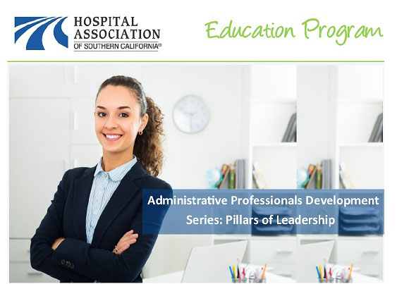 Administrative Professionals Development Series: Pillars of Leadership