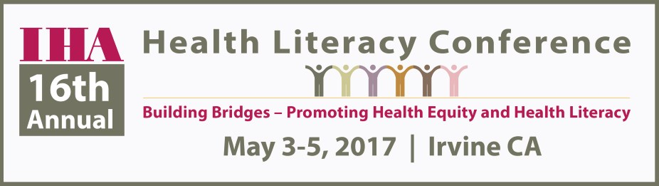 IHA's Health Literacy Conference 2017