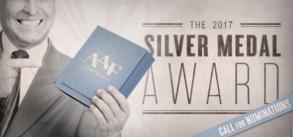 Silver Medal Nominations Due