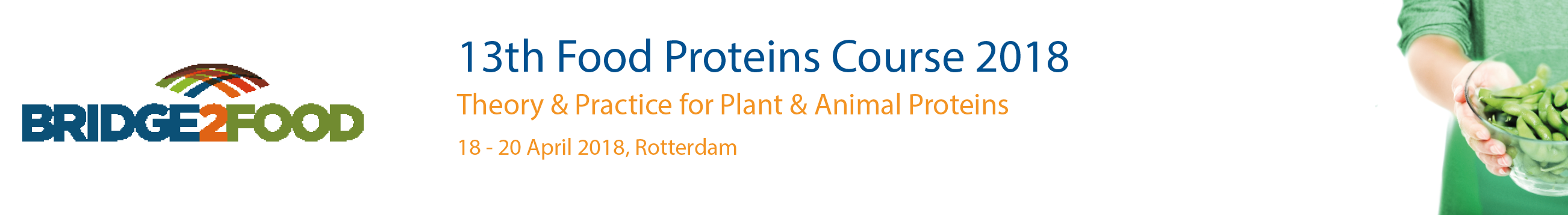 Bridge2Food - 13th Food Proteins Course 2018