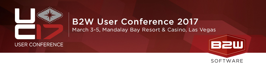 B2W Software's User Conference 2017