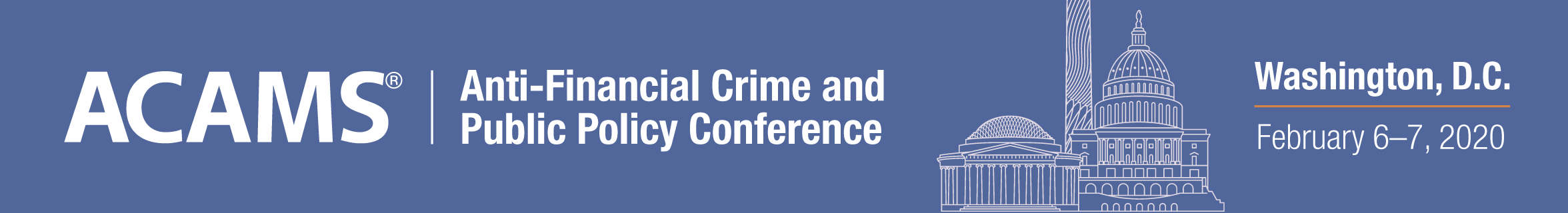 ACAMS Anti-Financial Crime and Public Policy Conference