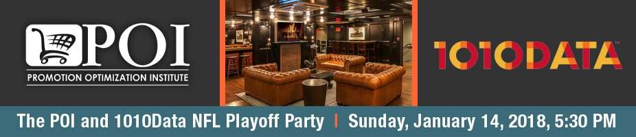 The POI and 1010Data NFL Playoff Party