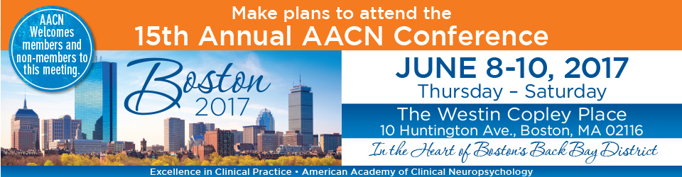 15th Annual Conference of the AACN - Sponsors