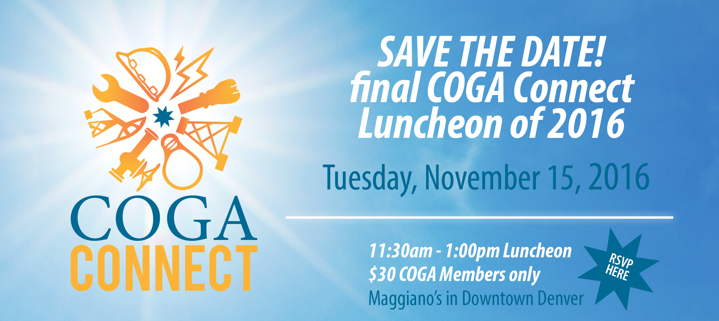 COGA Connect Luncheon - November 15