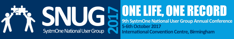 2017 SystmOne National User Group Conference