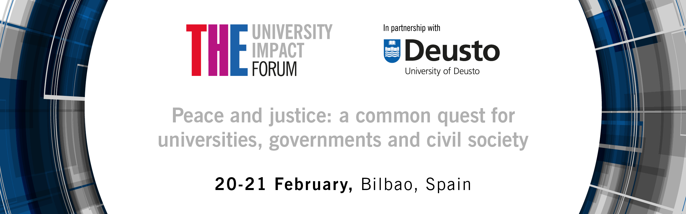 THE University Impact Forum: Peace, Justice & Strong Institutions