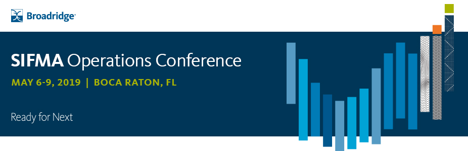 Join Broadridge for the AI and Capital Markets Workshop at SIFMA Ops 2019