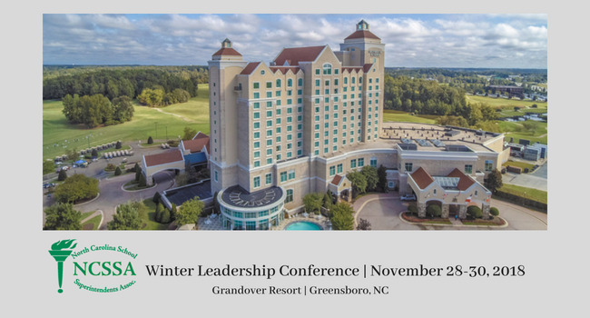 NCSSA Winter Superintendent's Leadership Conference 2018