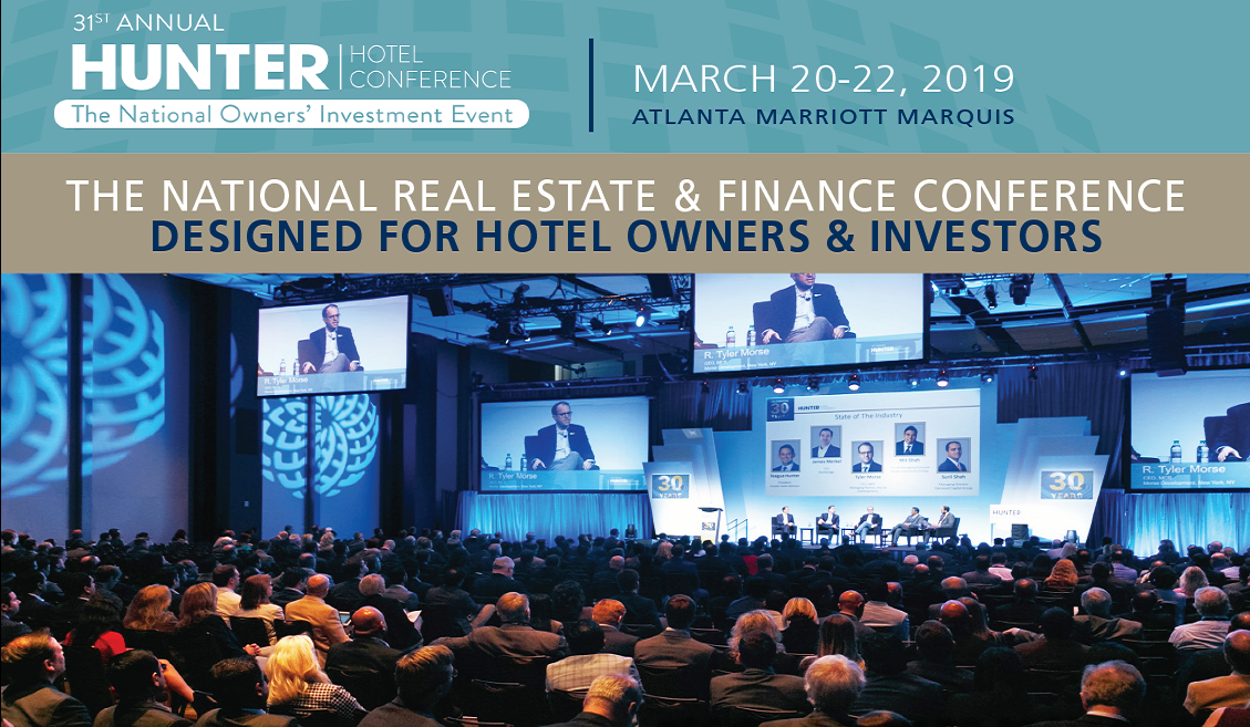 31st  Annual Hunter Hotel Investment Conference
