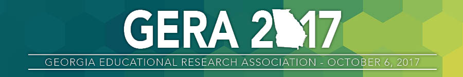 2017 Georgia Educational Research Association (GERA)