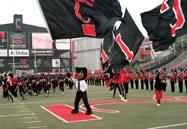 University Of Cincinnati Bearcats Football