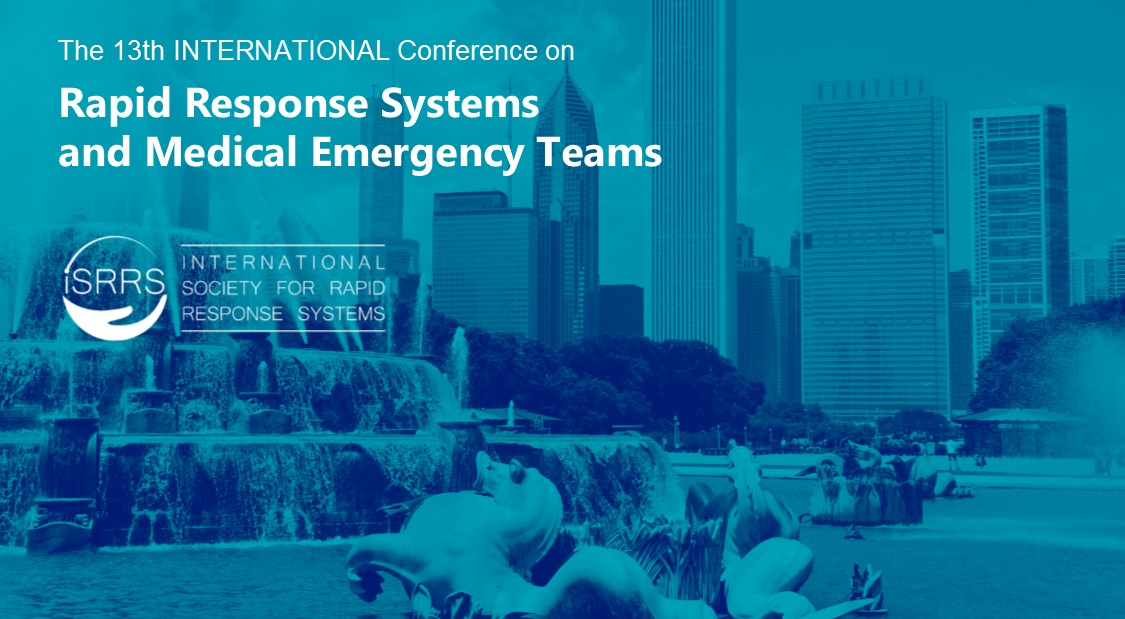 13th International Conference on Rapid Response Systems and Medical Emergency Teams