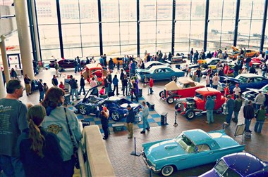 Car Show in Great Hall