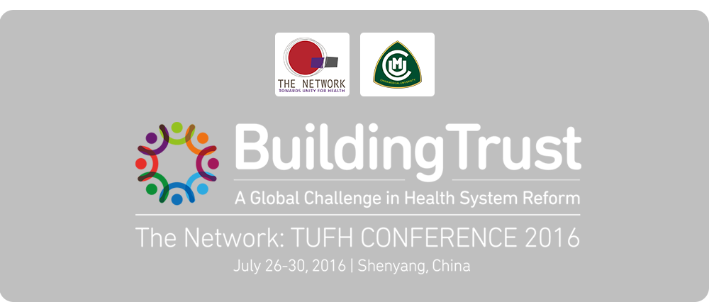 Building Trust: A Global Challenge in Health System Reform