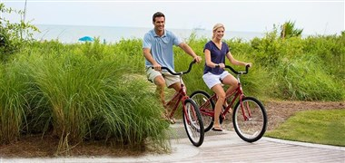 Biking in The Sea Pines Resort