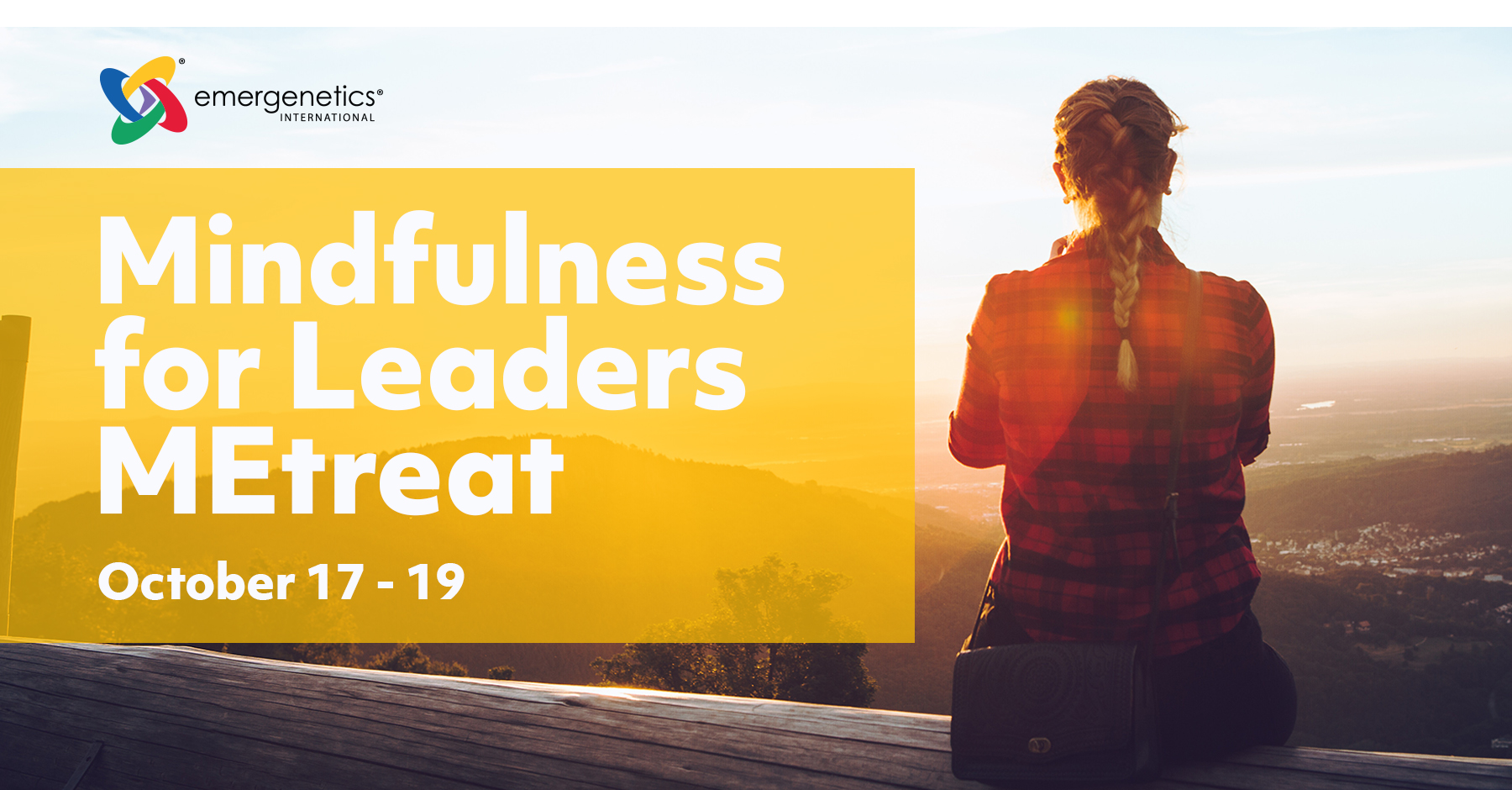 Mindfulness for Leaders MEtreat - October 17 - 19