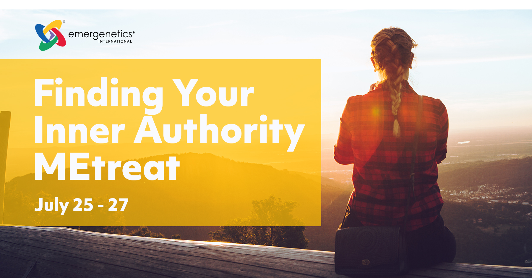 Finding Your Inner Authority - July 25-27