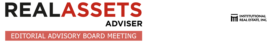 2016 Editorial Advisory Board Meeting - Real Assets Adviser