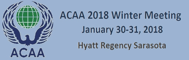ACAA 2018 Winter Meeting