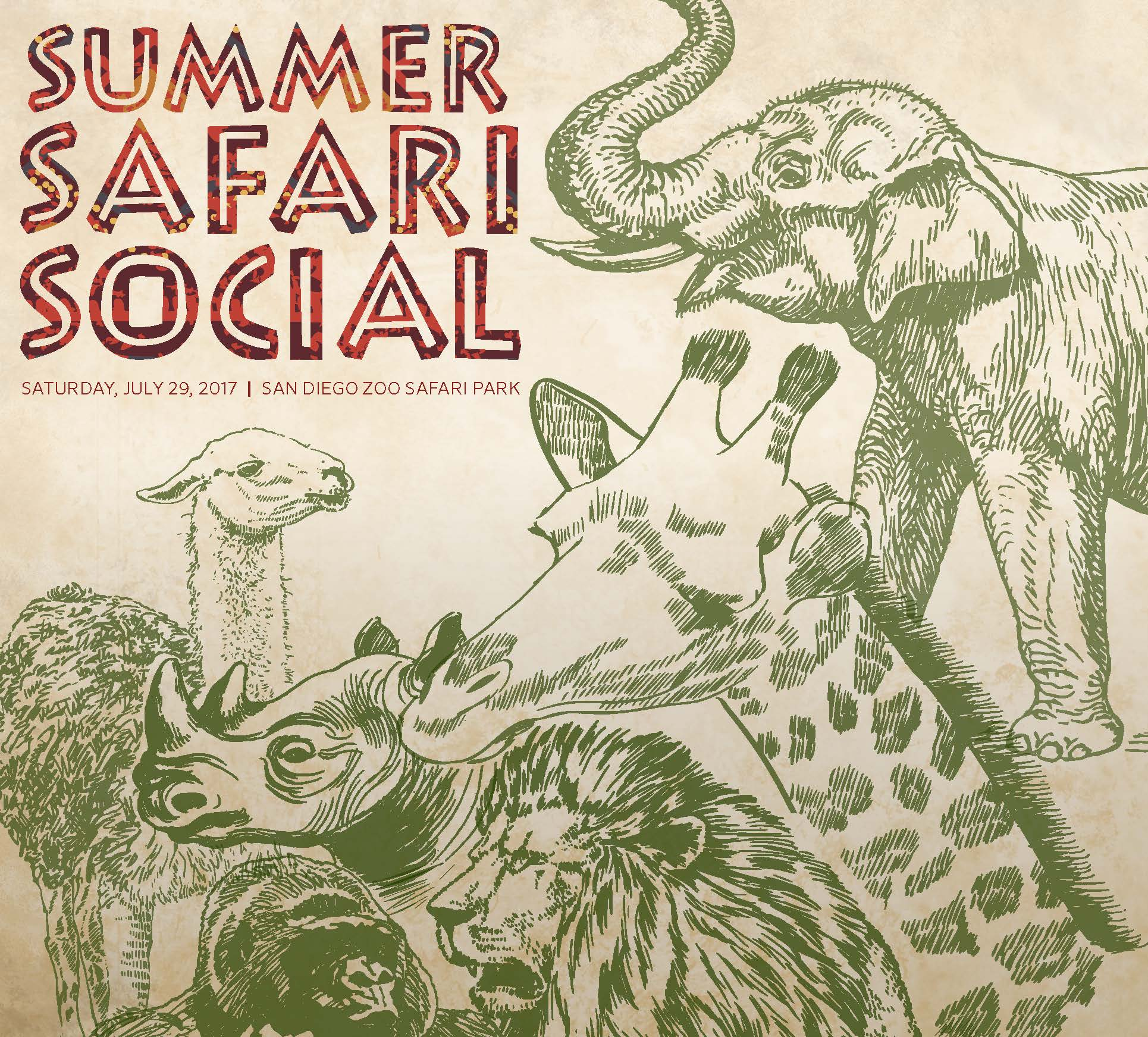 Hunter's Summer Safari Social 2017