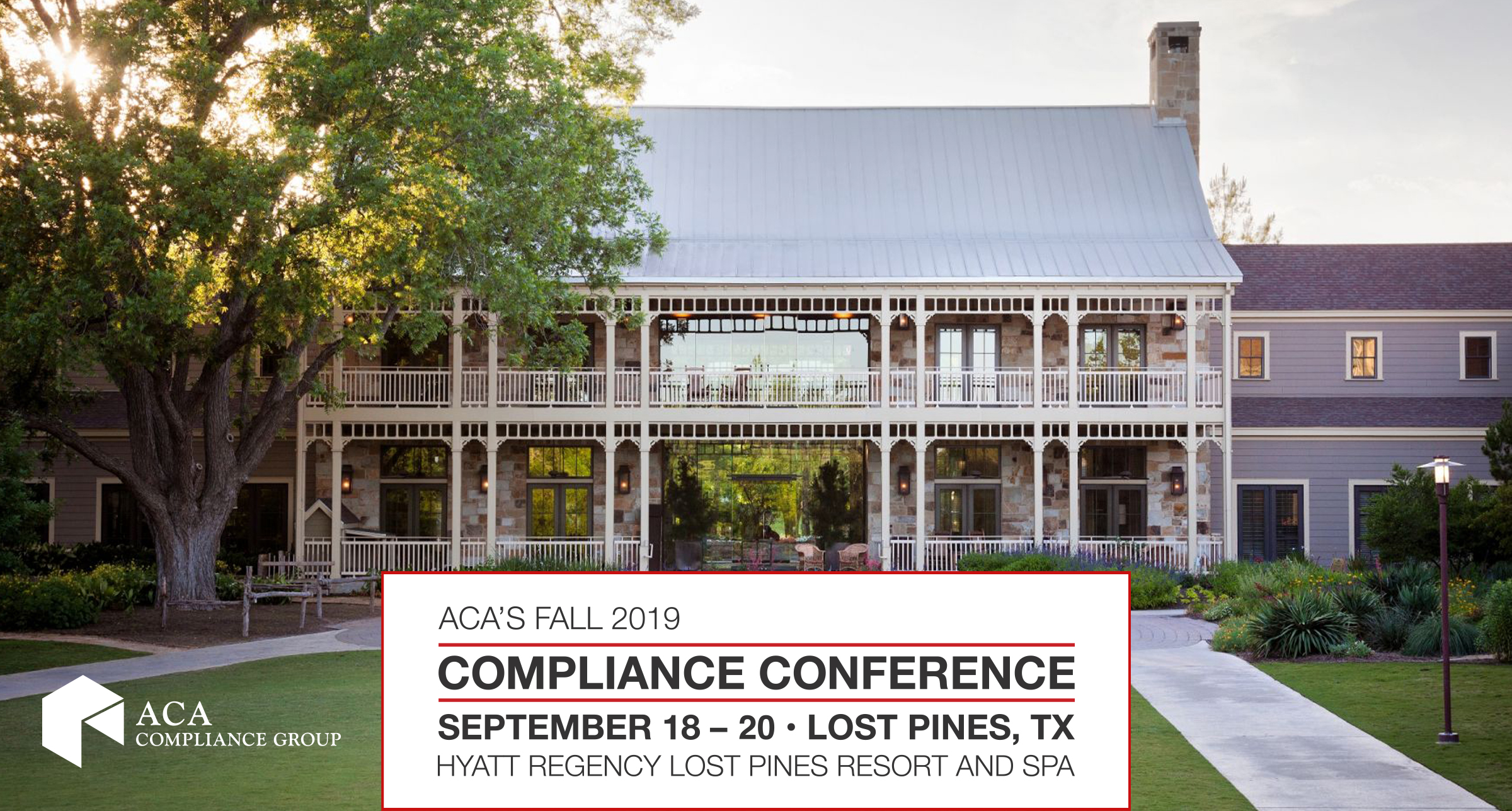 ACA's Fall 2019 Compliance Conference