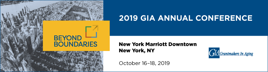 Grantmakers In Aging 2019 Annual Conference