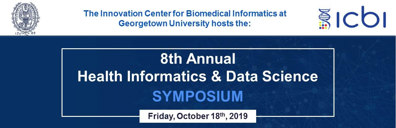 The 8th Annual Health Informatics and Data Science Symposium at Georgetown University