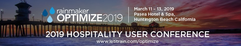 OPTIMIZE2019 Annual Rainmaker User Conference