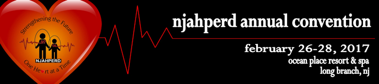 NJAHPERD Pre-Convention Workshops